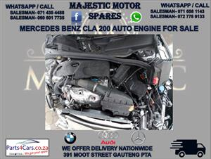 Mercedes benz CLA 200 engine for sale