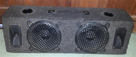 Speaker Box with Diamond speakers