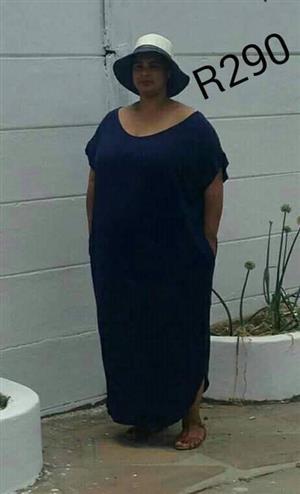 Dark blue long dress for sale