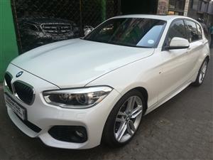 2016 BMW 1 Series 120i 5 door M Sport auto