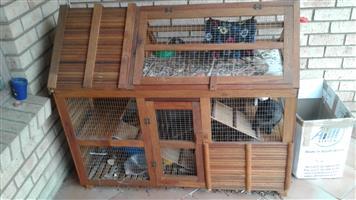 Rabbit Mansion Hutch For Sale