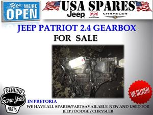 jeep patriot 2.4 manual petrol used gearbox for sale
