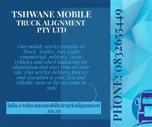 Mobile service provider all over the Province for Wheel Alignment, Wheel Balancing and minor repairs