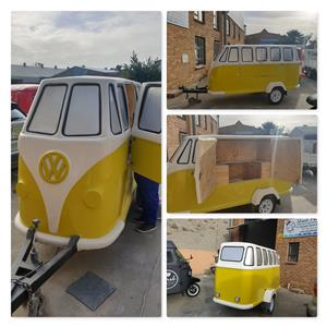 VW Kombi Mini Replica Utility Trailer