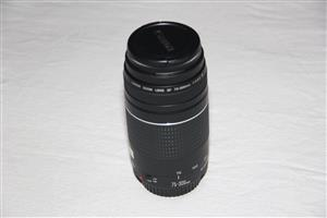 Canon EF 75 to 300mm f4.0-5.6 III Lens