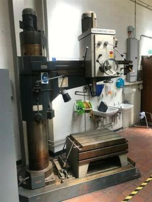 RADIAL ARM  DRILLING MACHINE 32mm and 35mm FOR SALE