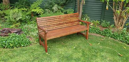 Gorgeous Outdoor Wooden Bench