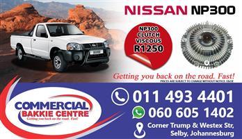 nissan np300 viscous clutch