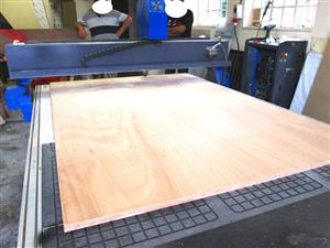 R-2030LC/75 EasyRoute 380V Lite 2050x3050mm Aluminium T-Slot Clamping CNC Router, 7.5kW