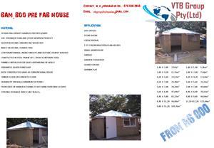 Prefab BAM-boo House