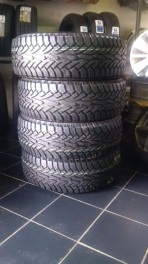Brand new tyres for SUV AND BAKKIES 17'' Continental