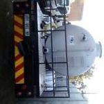 honey sucker tanker manufacturing with hydraulic system installation