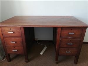 Wooden desk-vintage
