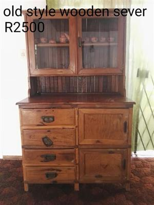 For sale old style wooden server