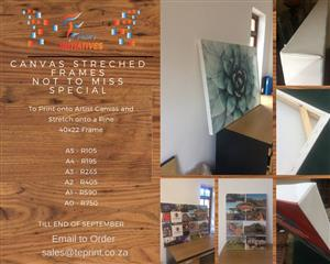 canvas specials -printing and branding
