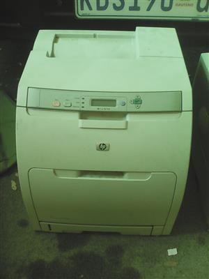 Printers Hewlett Pachard color laser 3000n AND HP MONO LASERJET