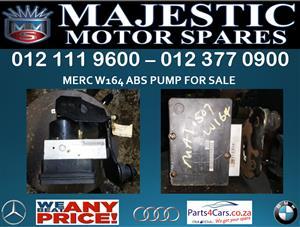 Mercedes benz W164 abs pump for sale
