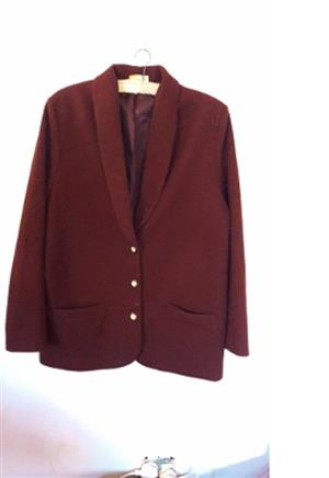 Ladies  Brown Blazer Type Chedee Coat
