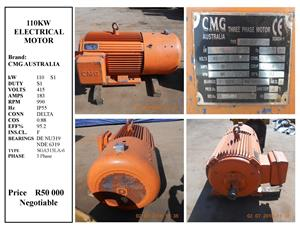 Electric Motor 110KW