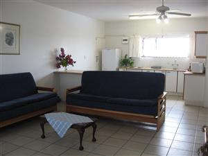 SHELLY BEACH FURNISHED 1 BEDROOM GROUND FLOOR HOLIDAY FLATS FROM R1750 PER WEEK SLEEPS 4 ST MICHAELS-ON-SEA