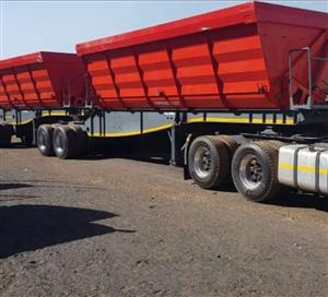 Looking for 34 tone side tipper trucks call 0719435163