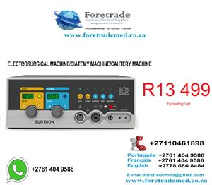 Electrosurgical/Diatemy machine only for R13499 Contact patrick on 0110461898