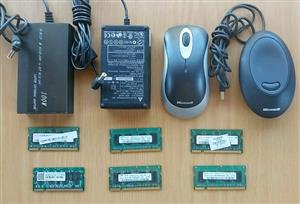 Laptop accessories. R300 for the lot. All in working condition