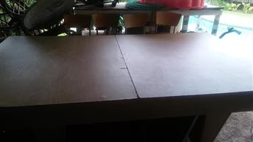 Wooden extendable table for sale