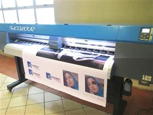 F-1866/AQUA/DX5 FastCOLOUR 1860mm EPSON® DX5 Printhead Large-Format Water Based Dye or