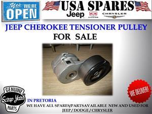 Jeep Cherokee 2.8 kj used tensioner pulley for sale