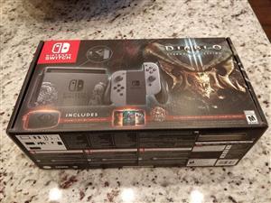 Limited edition fs bn sealed original Nintendo Switch Bundle Diablo 3: Eternal Collection