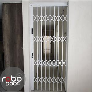 Security Trellis Doors