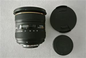 Sigma 10-20mm f/4-5.6 EX DC HSM Lens for Nikon Digital SLR Cameras - WIDE ANGLE