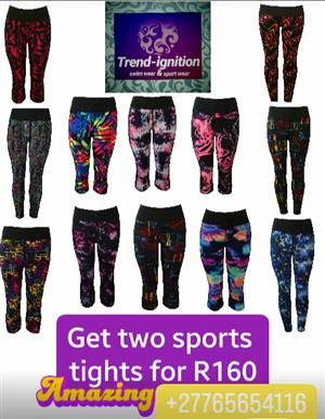 Two sport tights R160