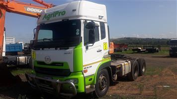Nissan Quon GW 26-450 High roof D/D truck,Hydraulics