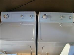 Whirlpool dryer (two available) R3499 ea