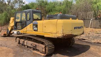 PC300/7 Komatsu Excavator