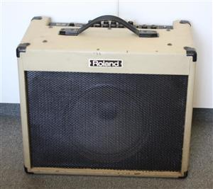 Original 90's Roland Blues Cube BC-60 Guitar Amp - Rare Find!