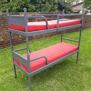 Steel stack beds