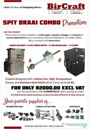 Spit Braai Motor