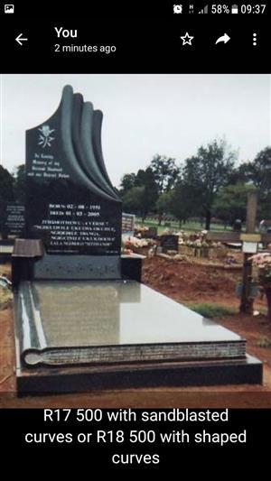 Tombstones for Africa