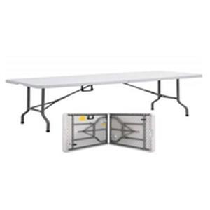 Rectangular Folding Table Plastic Top