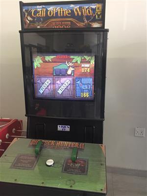 Big Buck Game Hunter Amusement Machine
