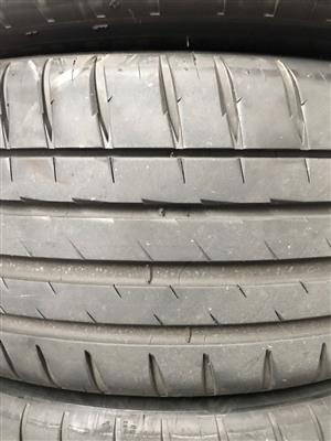 225/45R17 MICHELIN TYRES FOR SALE