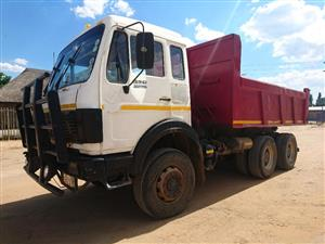 1986 M-Benz 2628 V-Series (10 cube) Tipper