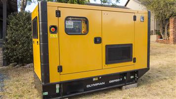 Brand New CAT 50 kVA Diesel Genset, enclosed - Top Quality Generator - available now