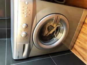 Defy Automaid - Silver washing machine