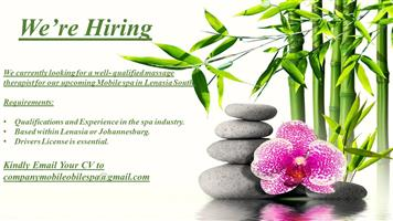 Massage Therapist Required