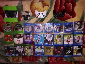 Ps4 games Xbox one games Xbox one s 500gb console R3300 Ps4 slim console R4100