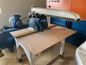 Radial Arm Saw, WADKIN BURSGREEN, BRA350, Ø-350, 2.2kW for sale  Heidelberg